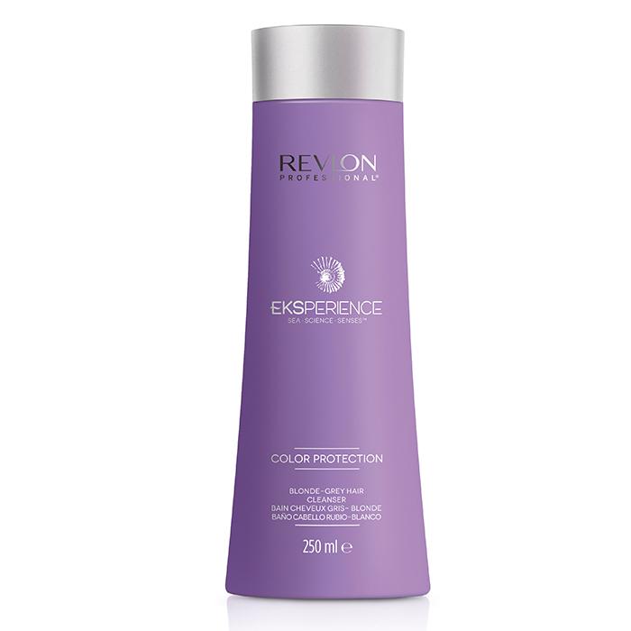 REVLON PROFESSIONAL EKSPERIENCE COLOR PROTECTION SHAMPOO BLONDE-GREY HAIR 250 ml / 8.45 Fl.Oz