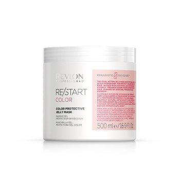 REVLON PROFESSIONAL RESTART COLOR PROTECTIVE JELLY MASK 500 ml / 16.90 Fl.Oz