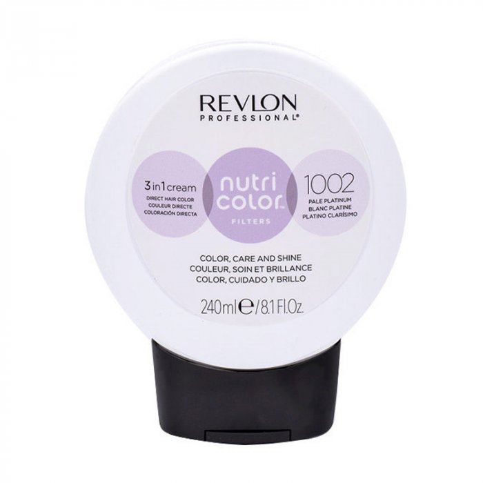 REVLON PROFESSIONAL NUTRI COLOR FILTERS 1002 - PALE PLATINUM 240 ml / 8.10 Fl.Oz
