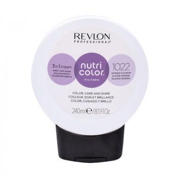 REVLON PROFESSIONAL NUTRI COLOR FILTERS 1022 - INTENSE PLATINUM 240 ml / 8.10 Fl.Oz