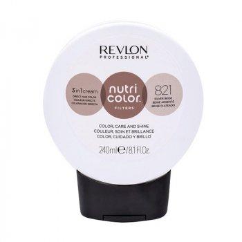 REVLON PROFESSIONAL NUTRI COLOR FILTERS 821 - BEIGE ARGENTO 240 ml / 8.10 Fl.Oz