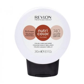 REVLON PROFESSIONAL NUTRI COLOR FILTERS 740 - RAME CHIARO 240 ml / 8.10 Fl.Oz
