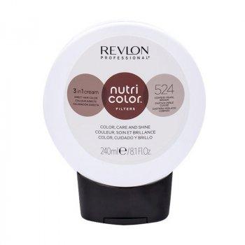 REVLON PROFESSIONAL NUTRI COLOR FILTERS 524 - CASTANO PERLATO RAMATO 240 ml / 8.10 Fl.Oz