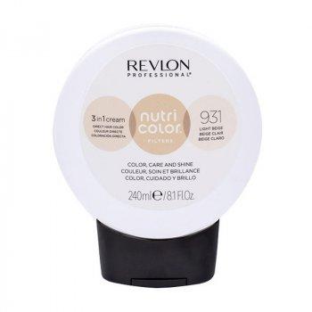 REVLON PROFESSIONAL NUTRI COLOR FILTERS 931 - BEIGE CHIARO 240 ml / 8.10 Fl.Oz