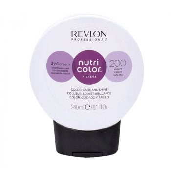 REVLON PROFESSIONAL NUTRI COLOR FILTERS 200 - VIOLA 240 ml / 8.10 Fl.Oz