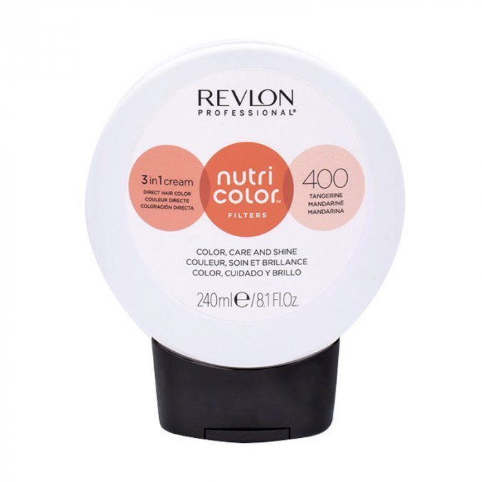 REVLON PROFESSIONAL NUTRI COLOR FILTERS 400 - TANGERINE 240 ml / 8.10 Fl.Oz