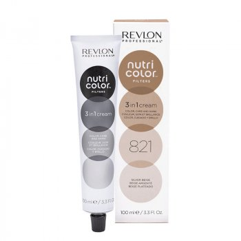 REVLON PROFESSIONAL NUTRI COLOR FILTERS 821 - BEIGE ARGENTO 100 ml / 3.30 Fl.Oz