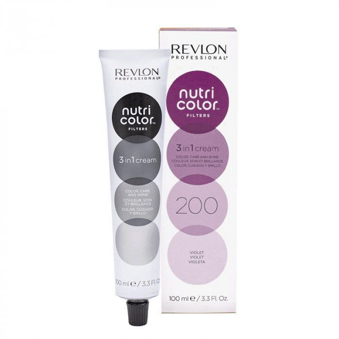 REVLON PROFESSIONAL - NUTRI COLOR FILTERS 200 - VIOLA 100 ml / 3.30 Fl.Oz