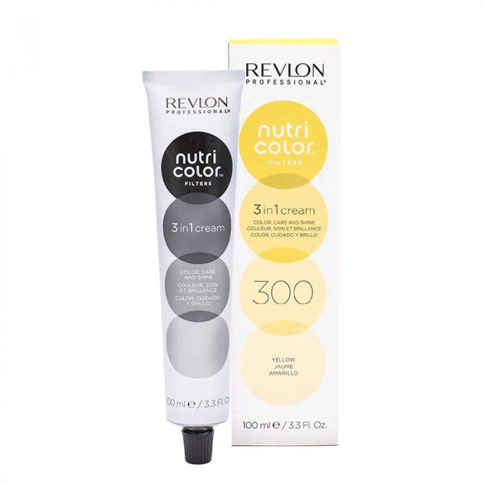 REVLON PROFESSIONAL - NUTRI COLOR FILTERS 300 - YELLOW 100 ml / 3.30 Fl.Oz