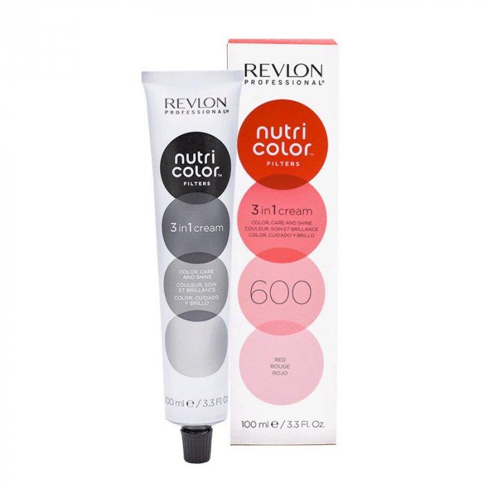 REVLON PROFESSIONAL - NUTRI COLOR FILTERS  600 - ROSSO 100 ml / 3.30 Fl.Oz