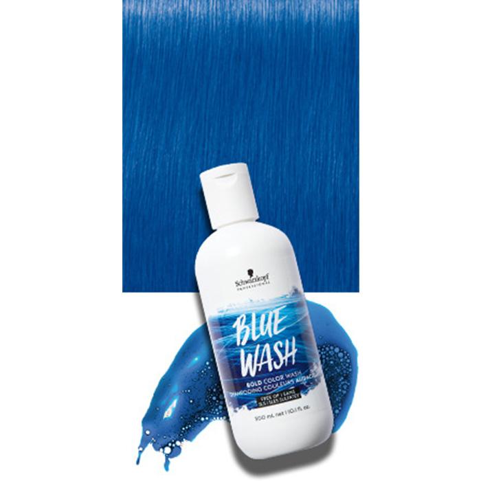SCHWARZKOPF BOLD COLOR WASH BLUE 300 ml / 10.10 Fl.Oz