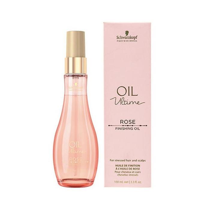 SCHWARZKOPF OIL ULTIME ROSE FINISHING OIL 100 ml / 3.30 Fl.Oz