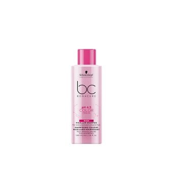 SCHWARZKOPF BC BONACURE PH4.5 COLOR FREEZE RICH MICELLAR SHAMPOO 100 ml / 3.4 Fl.Oz