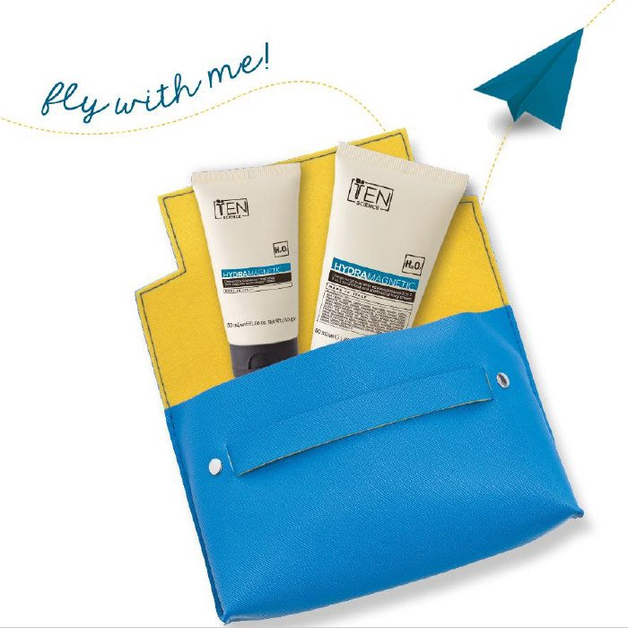 TEN HYDRA MAGNETIC FLY WITH ME TRAVEL KIT