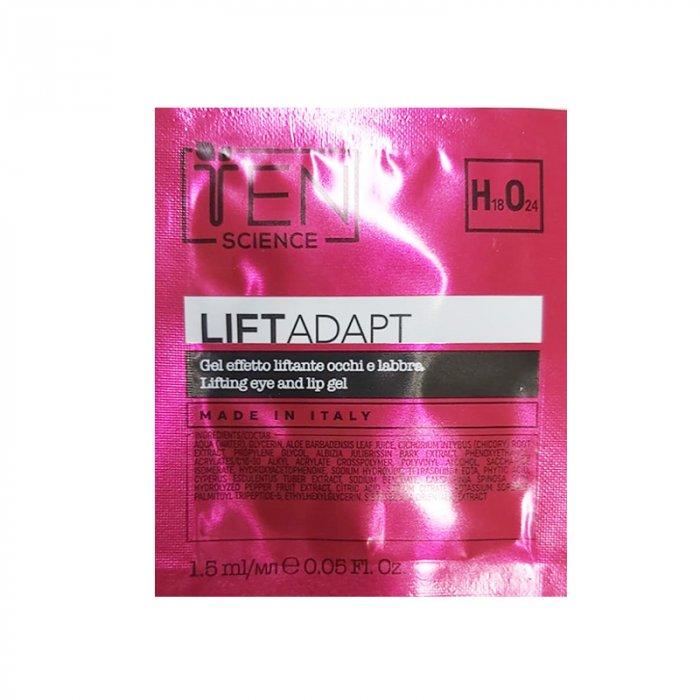 TEN LIFT ADAPT LIFTING EFFECT EYE AND LIP GEL 1.5 ml / 0.05 Fl.Oz