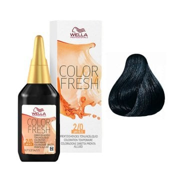 WELLA COLOR FRESH 2/0 - NERO 75 ml / 2.55 Fl.Oz