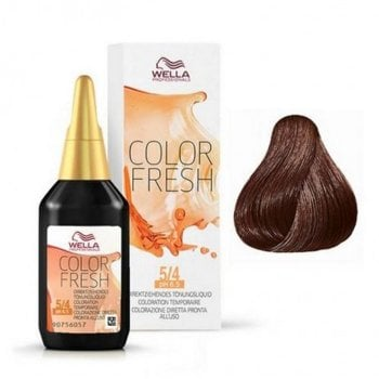 WELLA COLOR FRESH 5/4 - CASTANO CHIARO RAMATO 75 ml / 2.55 Fl.Oz