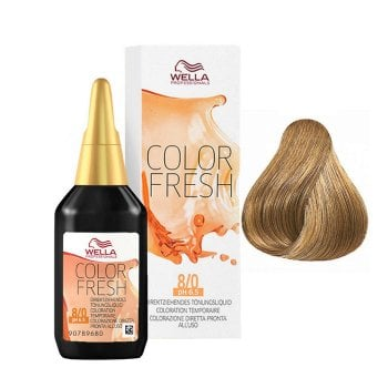 WELLA COLOR FRESH 8/0 - BIONDO CHIARO 75 ml / 2.55 Fl.Oz