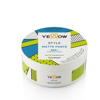 YELLOW STYLE MATTE PASTE 100 ml / 3.38 Fl.Oz