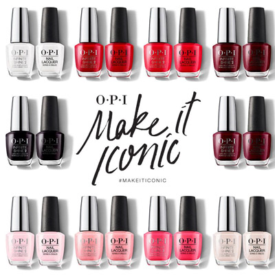 OPI ICONIC -THE BEST SELLERS