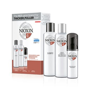 NIOXIN 3D CARE SYSTEM KIT 4 - COLORED HAIR PROGRESSED THINNING