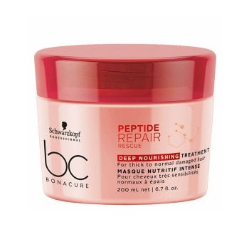 SCHWARZKOPF BC BONACURE PEPTIDE REPAIR RESCUE DEEP NOURISHING TREATMENT 200 ml / 6.70 Fl.Oz