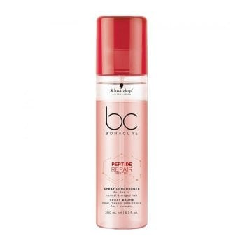 SCHWARZKOPF BC BONACURE PEPTIDE REPAIR RESCUE SPRAY CONDITIONER 200 ml / 6.70 Fl.Oz