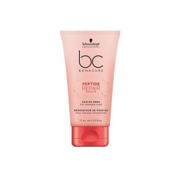 SCHWARZKOPF BC BONACURE PEPTIDE REPAIR RESCUE SEALED ENDS 75 ml  / 2.54 Fl.Oz