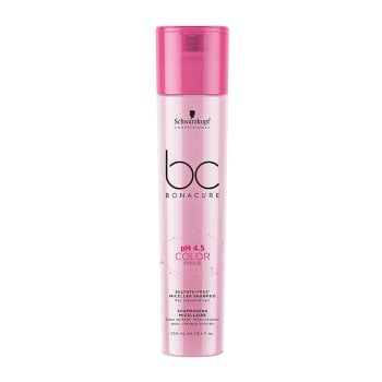 SCHWARZKOPF BC BONACURE PH4.5 COLOR FREEZE SULFATE FREE MICELLAR SHAMPOO 250 ml / 8.40 Fl.Oz