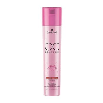 SCHWARZKOPF BC BONACURE PH4.5 COLOR FREEZE VIBRANT RED MICELLAR SHAMPOO 250 ml / 8.40 Fl.Oz